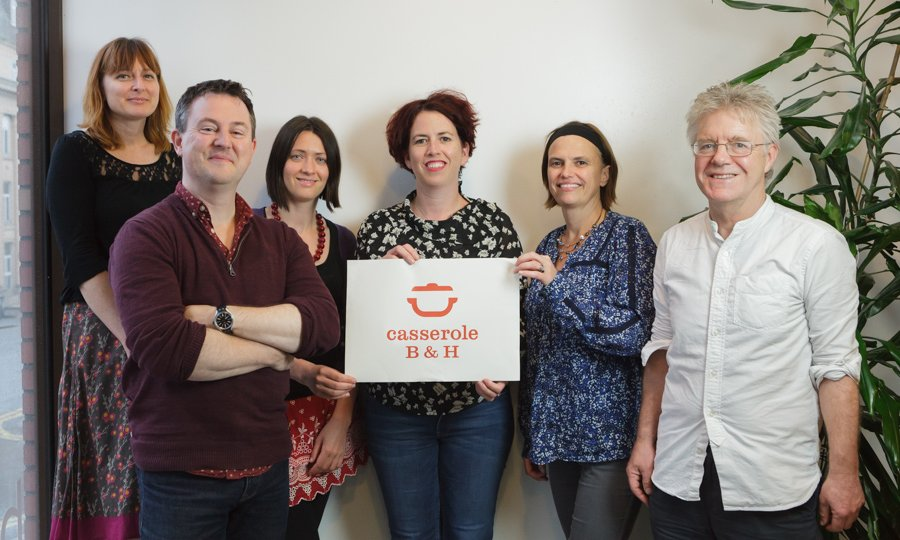 The team behind the launch of Casserole Club Brighton & Hove