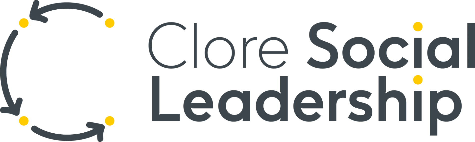 Clore Social Leadership Logo - without background