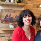 Photo of Lindsey Pickles and Sara Osterholzer Marketing Automation Clinic