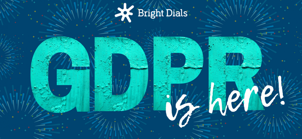 GDPR is here with fireworks
