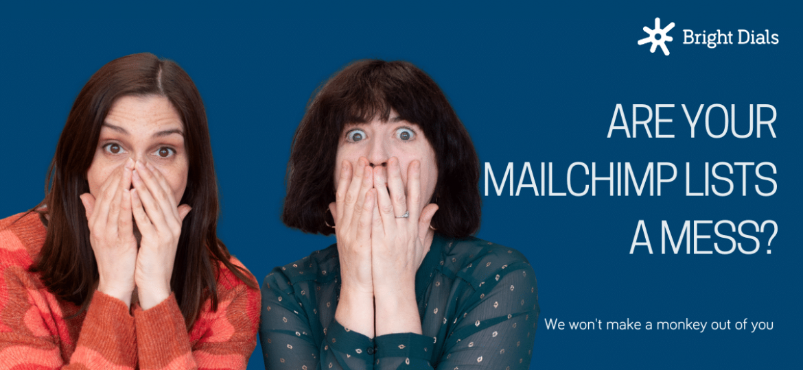 Are your Mailchimp lists a Mess with shocked faces